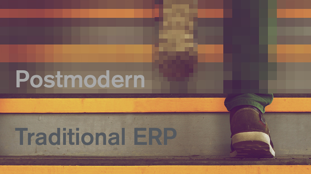 From traditional to postmodern ERP — A guide to the digital journey